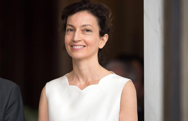 Audrey Azoulay, French Minister of Culture and Communication