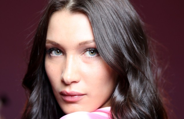 Hair, Makeup and Backstage Beauty at the Victoria's Secret Fashion Show 2016 bella hadid
