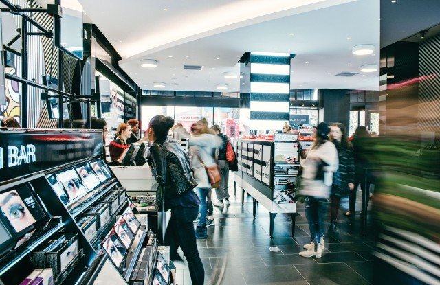 Color cosmetics continues to be beauty's fastest-growing category and is expected to push holiday sales.