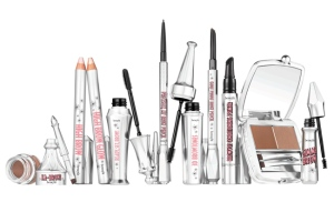 Benefit Cosmetic's assortment of eyebrow products.