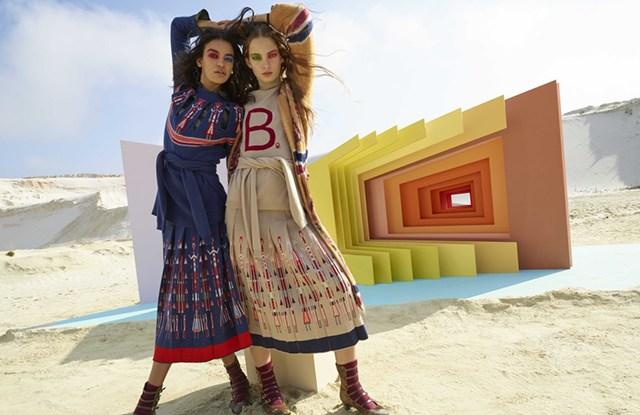Benetton by Stella Jean ad campaign.