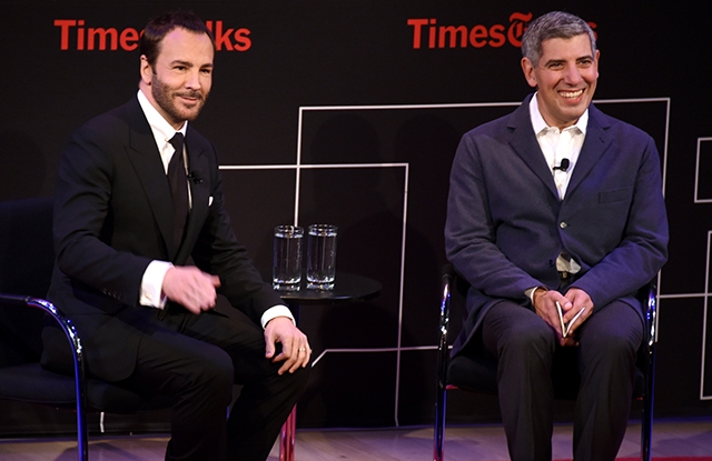 Tom Ford Panel Discussion november 2016
