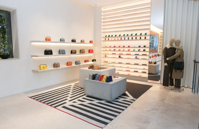 The Casa Loewe store in Madrid, Spain.
