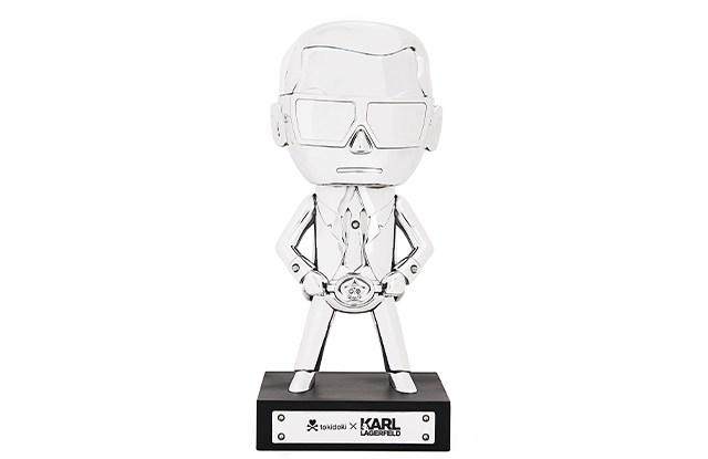 Chrome limited edition Tokidoki of Karl Lagerfeld