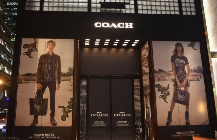 The Fifth Avenue Coach store.