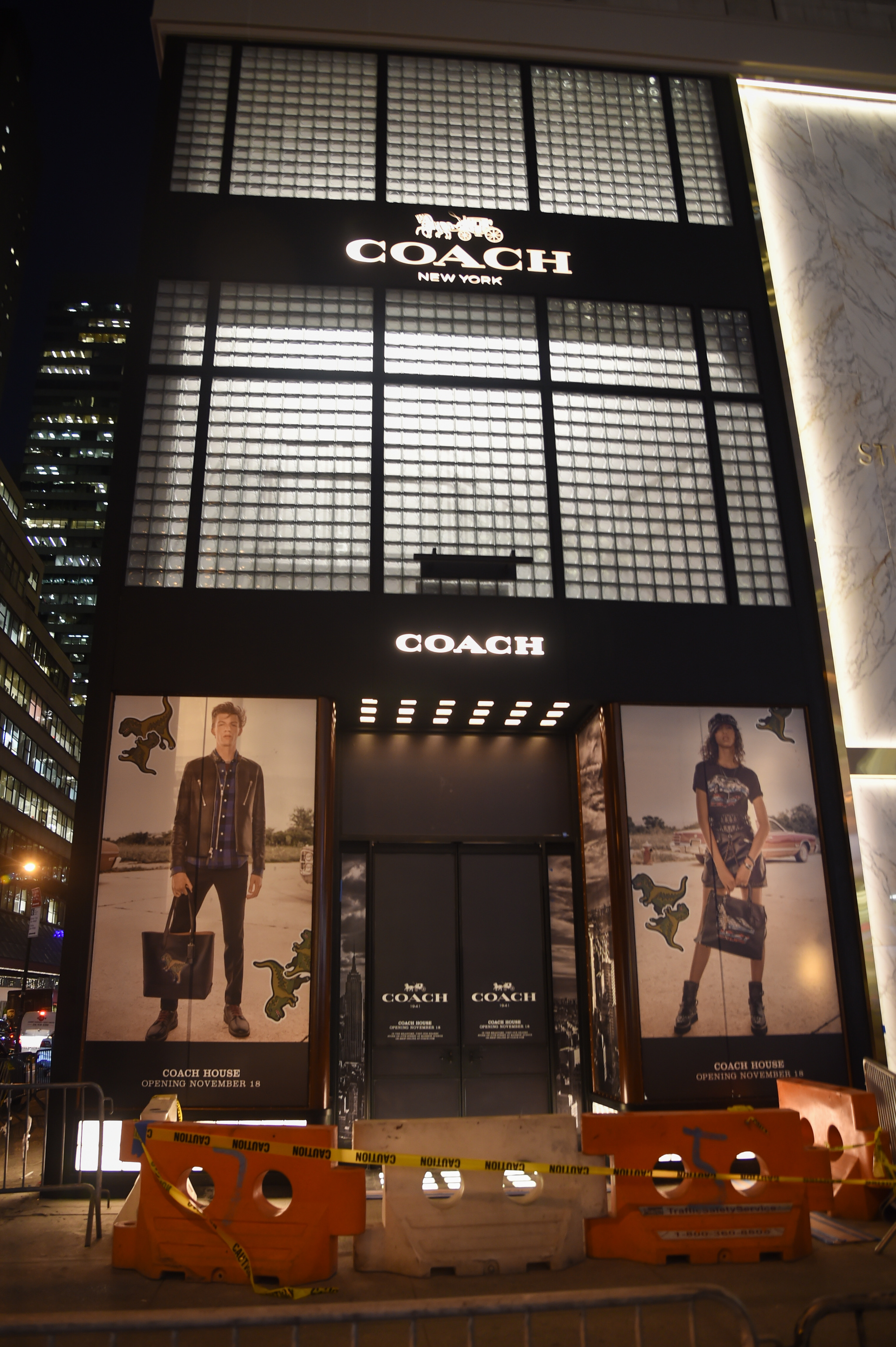The Fifth Avenue Coach store.