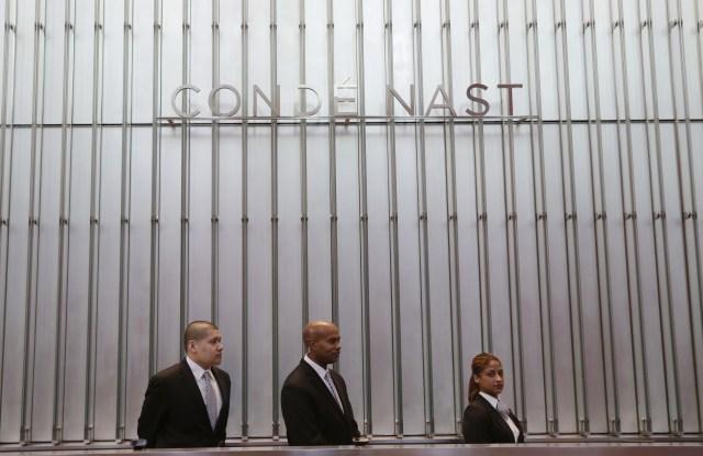Condé Nast's New York office.