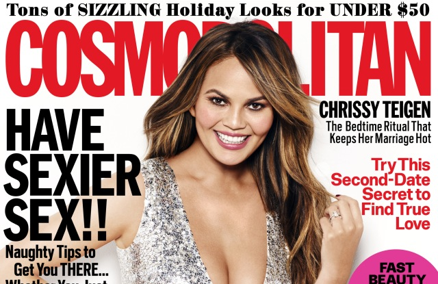 Cosmopolitan's December cover.