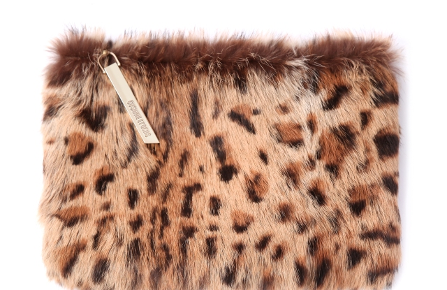 Cushnie et Ochs leopard fur bag will be featured on the e-commerce site.