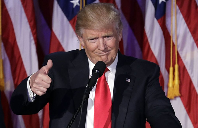 2016 Election Trump, New York, USA - 09 Nov 2016