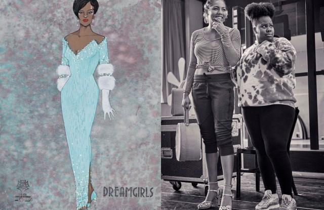 Gregg Barnes Swarovksi costumes dreamgirls