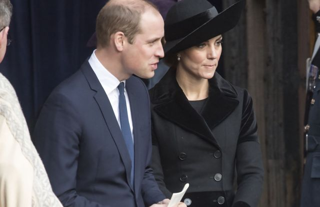 The Duchess of Cambridge McQueen coat