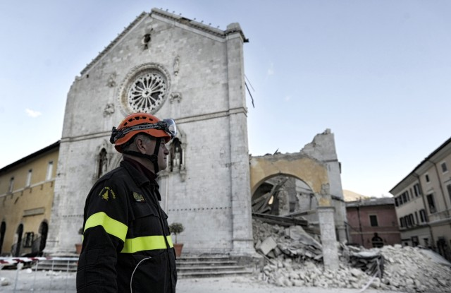 Earthquake in Ital