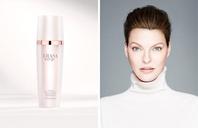 Linda Evangelista is the new creative director of skin care brand Erasa.