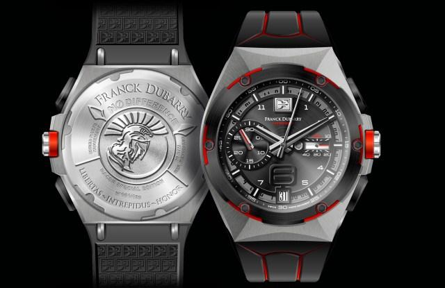 Franck Dubarry Intrepidus watch.