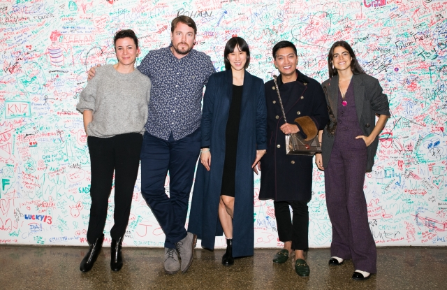 Garance Doré, Billy Farrell, Eva Chen, Bryanboy, Leandra Medine at a panel discussion on street style.