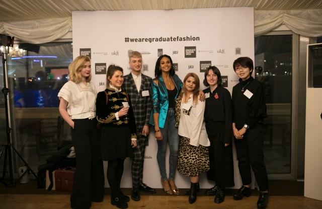 Graduate Fashion Week's winning students