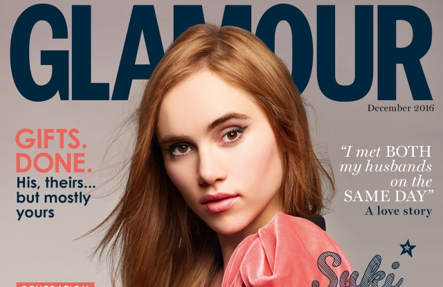 Glamour's December 2016 cover