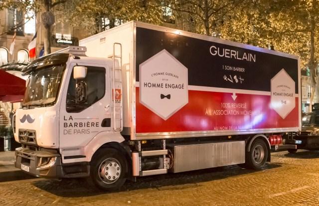 Guerlain Barber Truck - Movember 2016