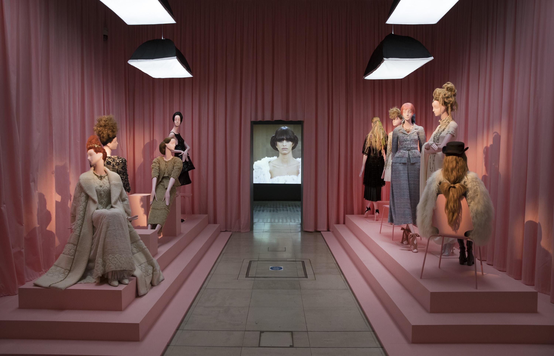"""Hair by Sam McKnight"" exhibition Somerset House"
