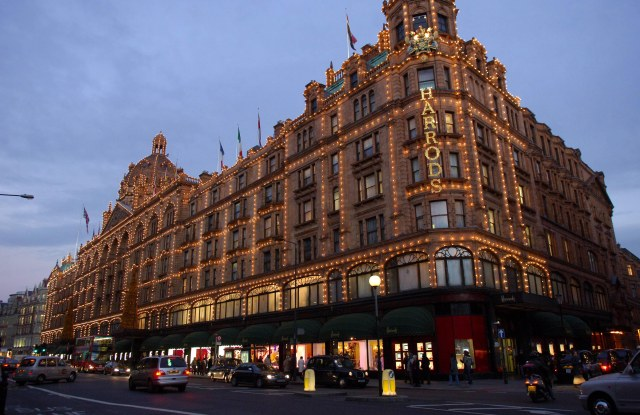 The Harrods store in London
