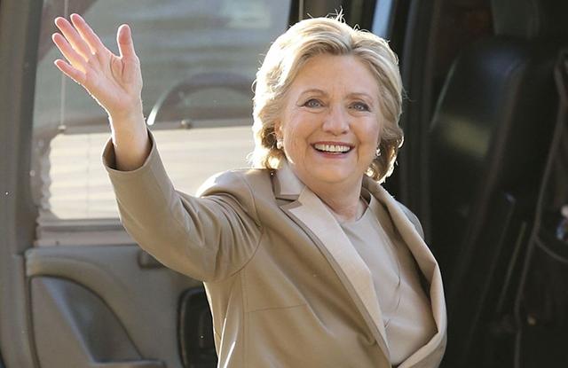 2016 Election Clinton, Chappaqua, USA - 08 Nov 2016