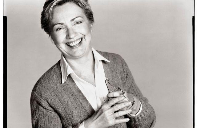 Hillary Clinton by Richard Avedon