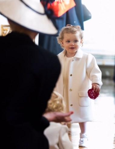 Royal Style at Monaco's National Day Princess Gabriella Armani