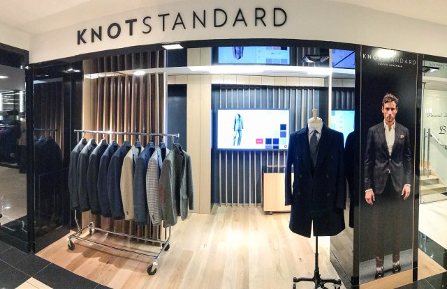 The Knot Standard shop in Bloomingdale's