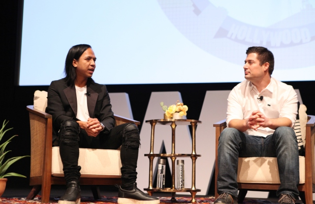 Revolve cofounders and co-chief executive officers Michael Mente and Mike Karanikolas