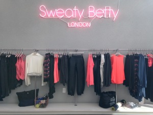 Sweaty Betty at 8551 Melrose Ave. in West Hollywood.