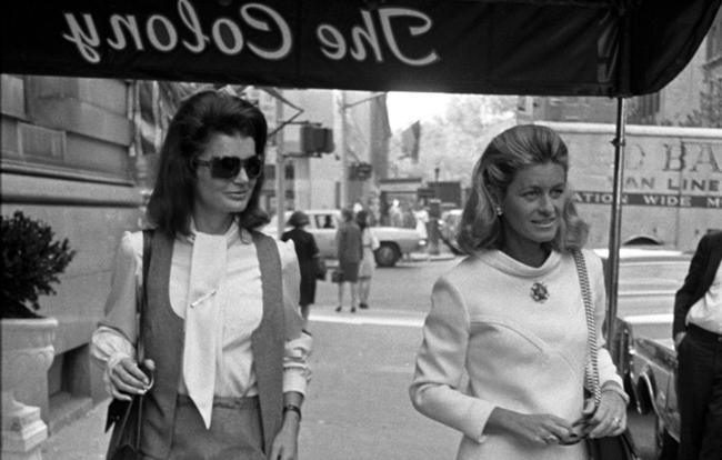 Jackie Kennedy Outside The Colony Club