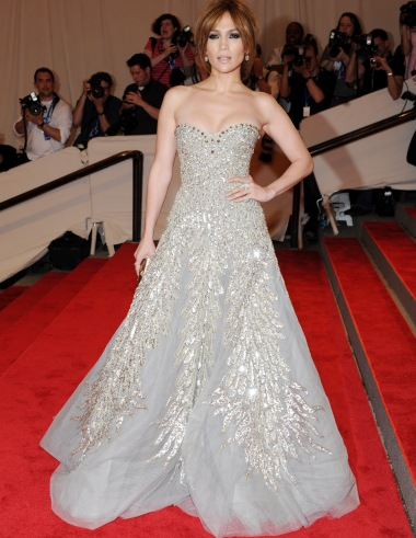 Jlo at the Met Gala 2010