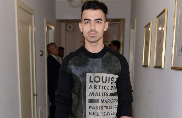 Joe Jonas in Louis Vuitton