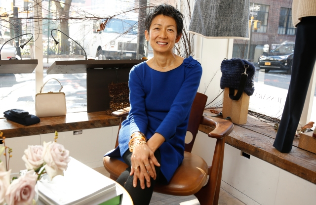 Jussara Lee in her West Village store.