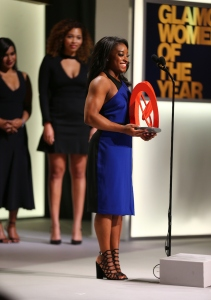 Simone Biles at Glamour Women of the Year 2016