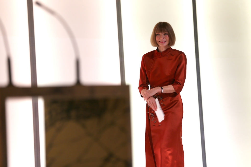 Anna Wintour at Glamour Women of the Year 2016