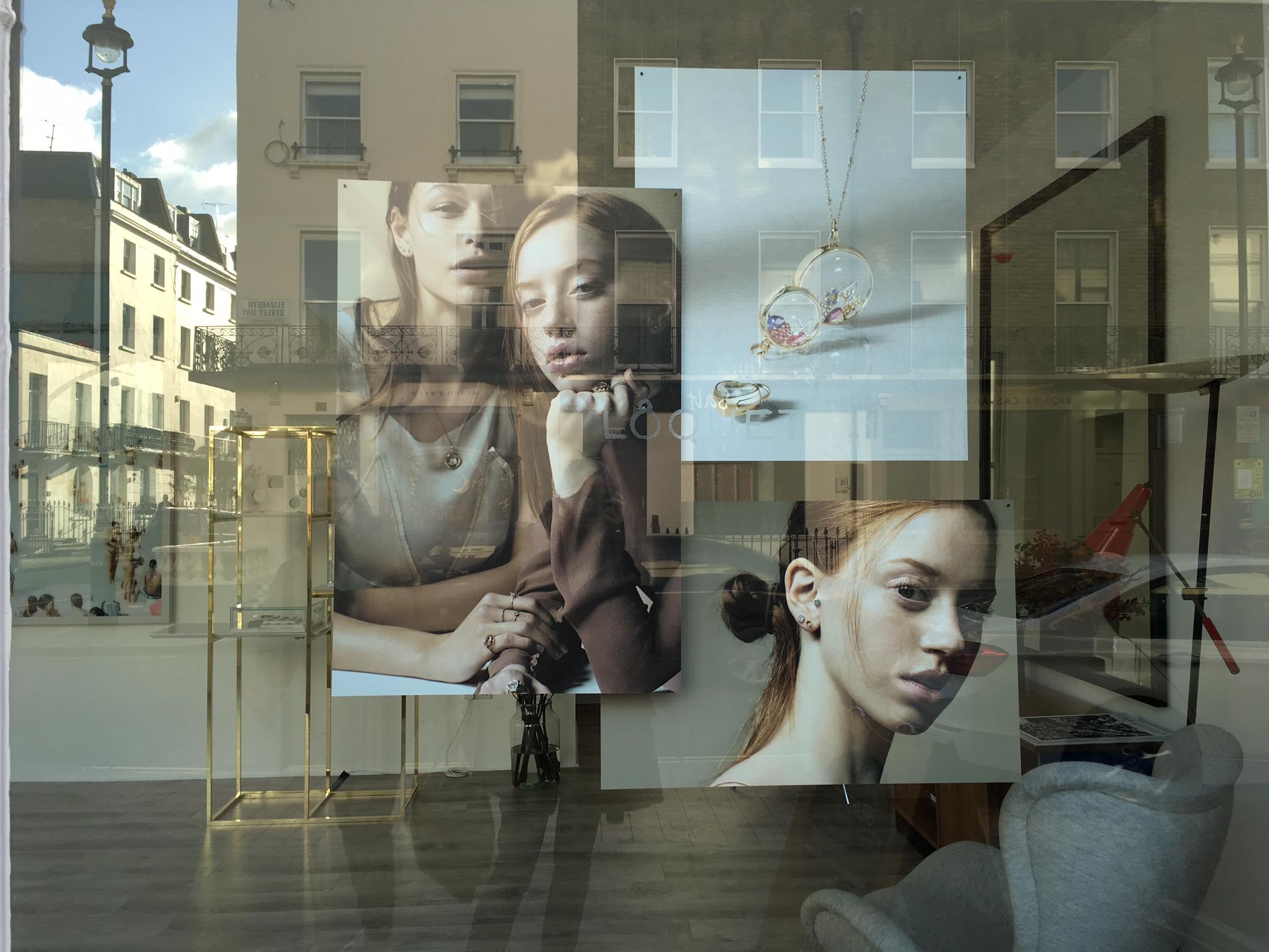 Loquet London pop-up shop