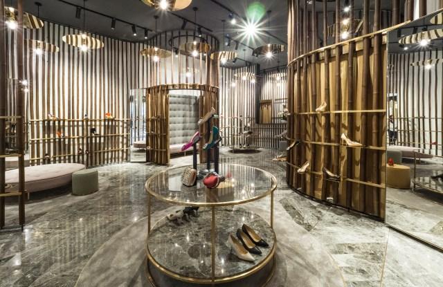 Manolo Blahnik's flagship store Kuala Lumpur