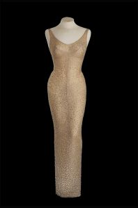 Marilyn Monroe's 'Happy Birthday Mr President' dress to be auctioned
