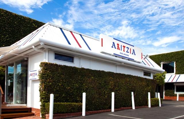 Aritzia's Los Angeles pop-up showroom.