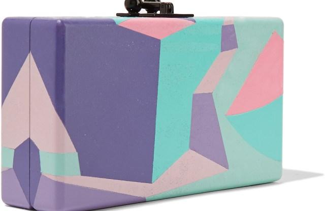 The Outnet's Edie Parker clutch designed by Derek Hunter.