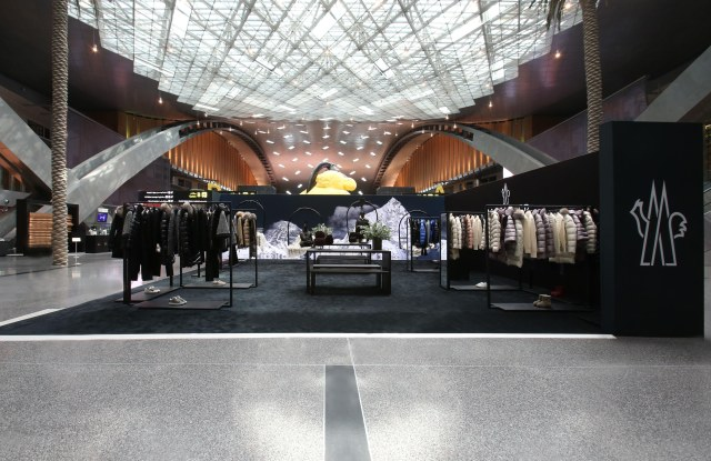 Moncler Pop-Up Boutique at Doha's Hamad International-Airport