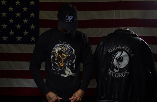 Roc96 capsule collection Roc A fella Jay Z Reasonable Doubt