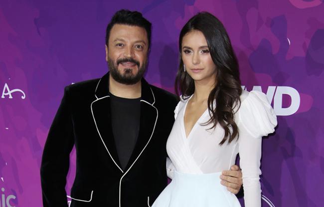 Zuhair Murad and Nina Dobrev