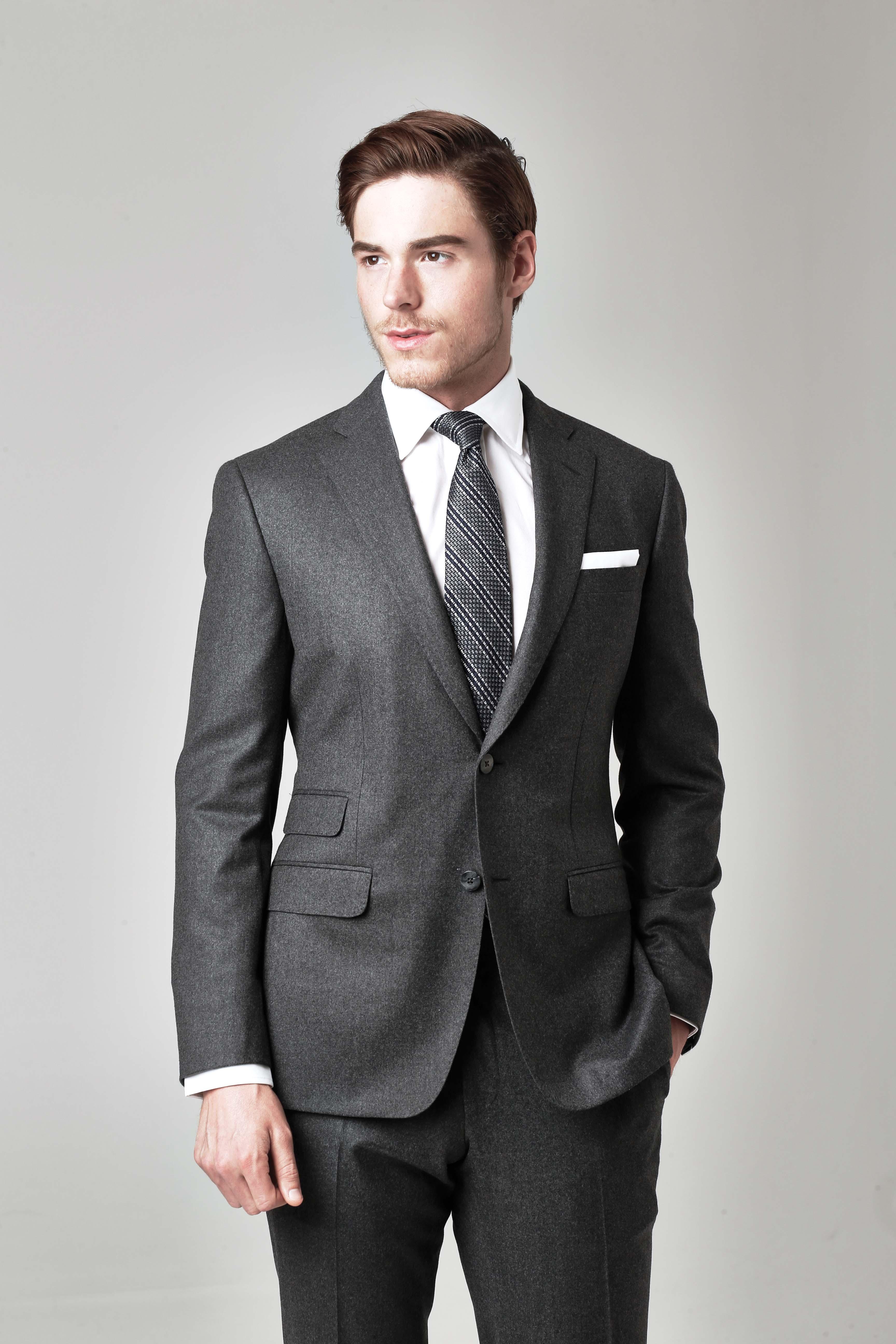 A Paul Stuart suit.