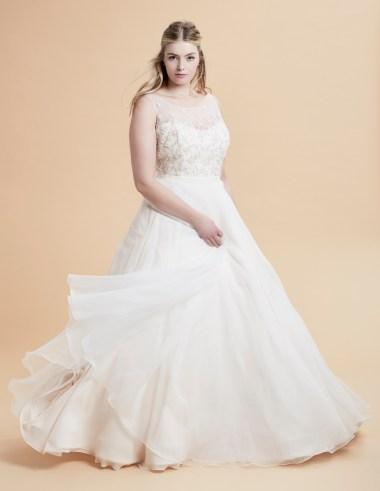 plus size designer wedding dresses