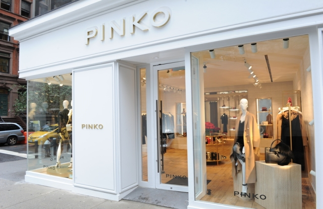 The Pinko store on New York's Madison Avenue.