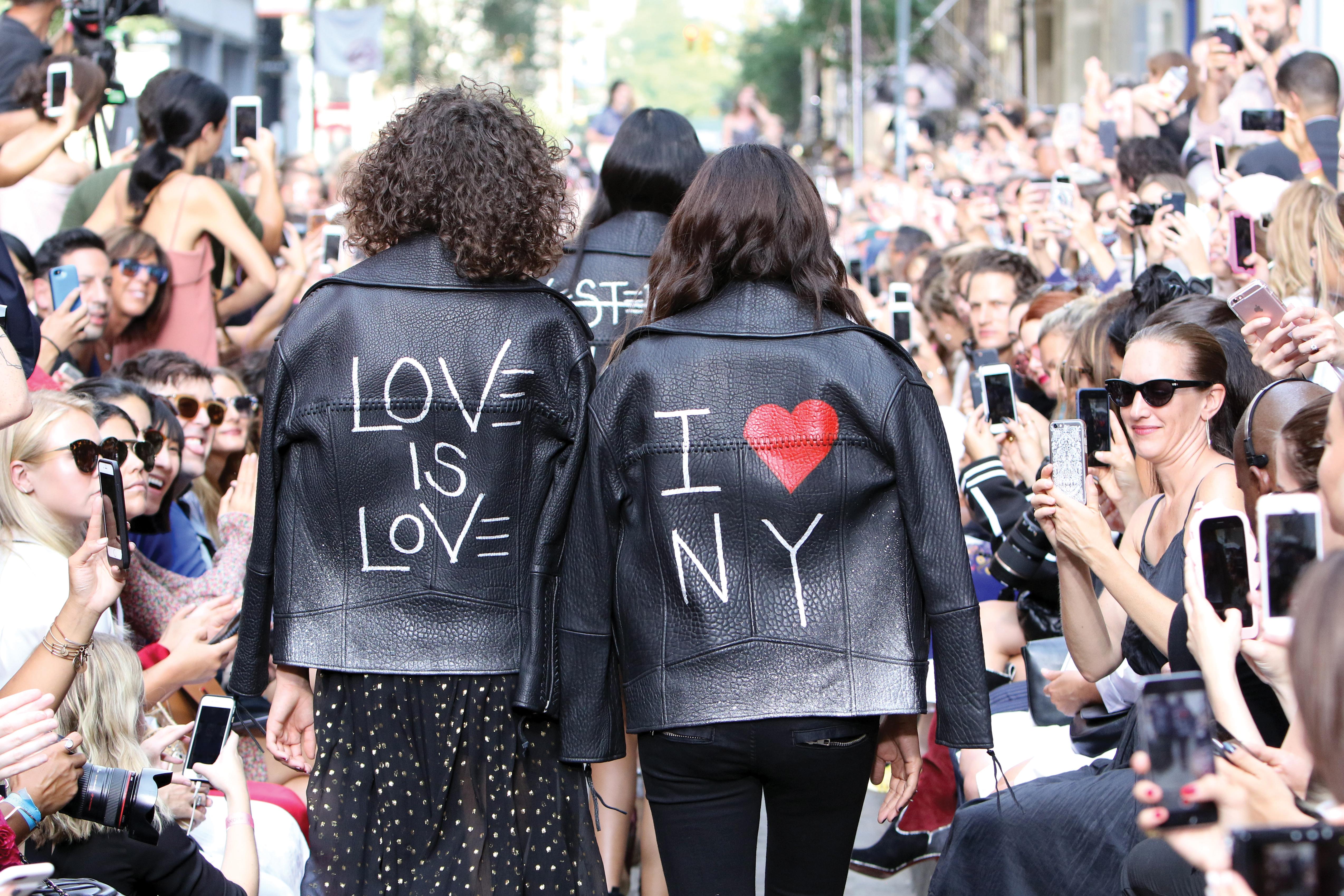 Rebecca Minkoff jackets.