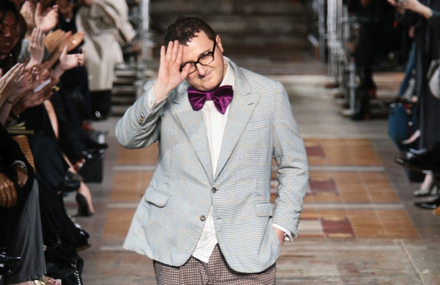 Alber Elbaz was ousted last year after a 14-year stint at Lanvin.